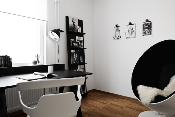 elegant-black-and-white-home-office